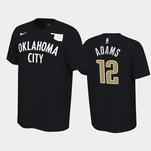 Thunder #12 Steven Adams Earned T-Shirt
